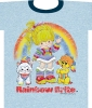 Weathered Kitty<br />Puppy and<br />Rainbow Brite<br />Tee