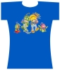 Raver Dance<br />Patty and<br />Rainbow Brite<br />Changes Tee<br />Blue