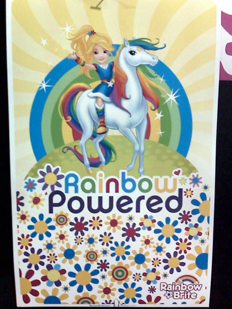 Comic-Con Rainbow Brite Poster