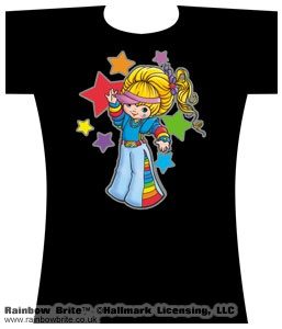 Raver Girl Rainbow Brite Changes Tee Shirt