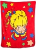 Rainbow Brite Throw
