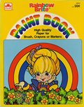 Rainbow Brite: Paint Book